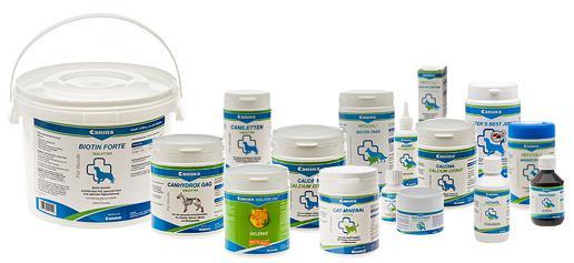 Витамины и подкормки Canina