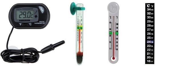 Термометры для измерения температуры в растворе