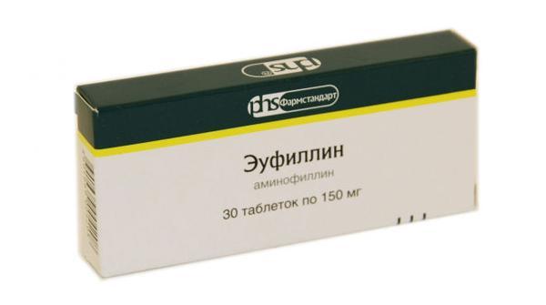 Мочегонное средство Эуфиллин